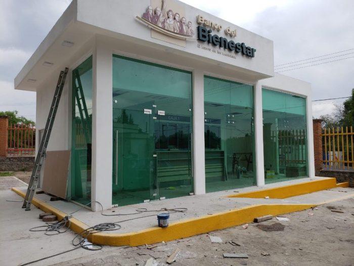 Banco del Bienestar no ha concluido ninguna sucursal nueva a dos años de su creación