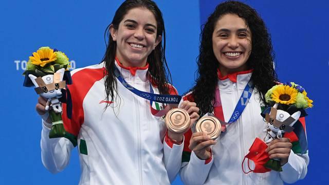 Alejandra Orozco y Gabriela Agúndez ganan segunda medalla para México en los 'Juegos Olímpicos de Tokio'