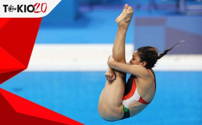 Arantxa Chávez lamenta su clavado de 'cero' en Juegos Olímpicos de Tokio