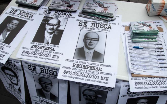 Arranca campaña para consulta sobre juicio a ex presidentes