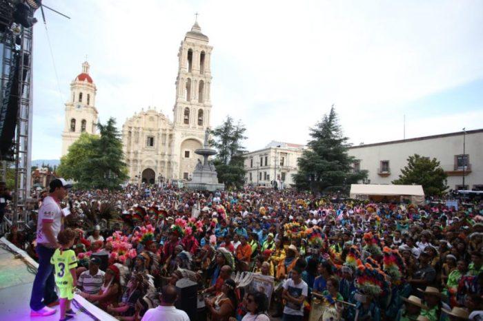 Saltillo se viste de fiesta para su 444 aniversario y danzará al ritmo de los Matlachines