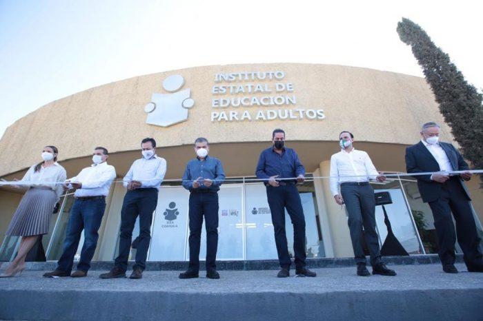 Coahuila reafirma su compromiso para superar rezagos en materia de educación: MARS
