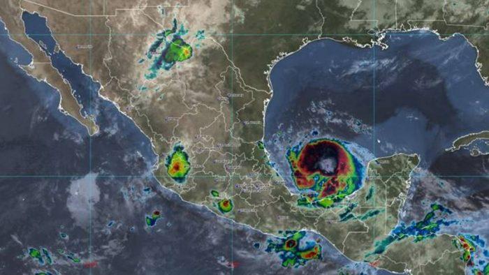 'Grace' cobra fuerza: es (de nuevo) huracán categoría 1 y se enfila hacia Veracruz
