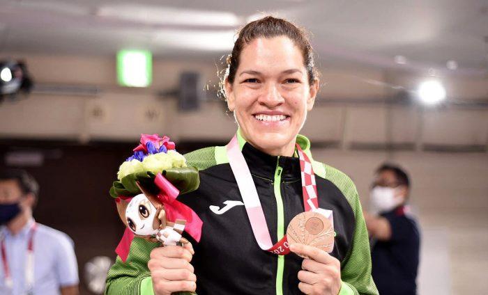 Lenia Ruvalcaba gana medalla de bronce en Judo