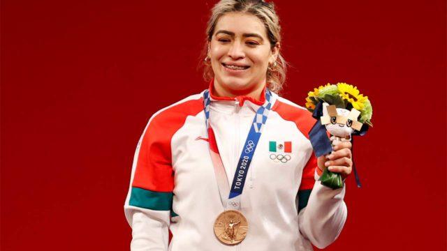 Aremi Fuentes da tercera medalla a México en Tokio 2020