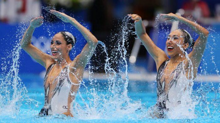 Tokio 2020: las mexicanas Joana Jiménez y Nuria Diosdado avanzaron a la Final de nado sincronizado