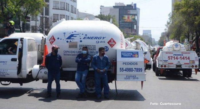 Protestas de gaseros afecta a habitantes de la CDMX y Edomex