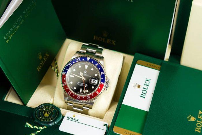 La burbuja de los Rolex