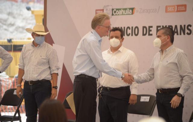 ANUNCIA MARS INVERSIÓN DE MÁS DE 63 MDD PARA REGIÓN CENTRO DE COAHUILA