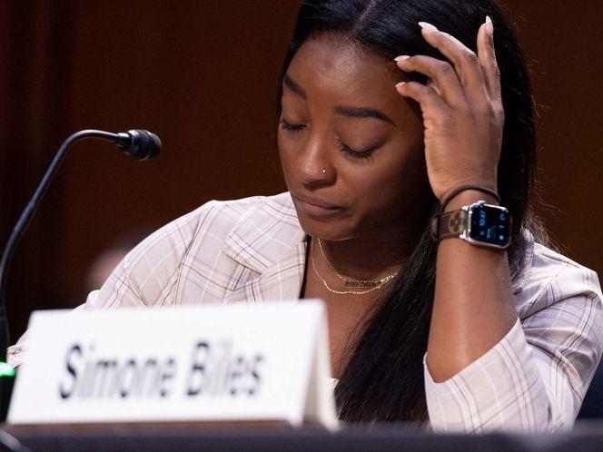 """Simone Biles declara en el Senado: """"Culpo del abuso sexual a Nassar y a todo el sistema que lo permitió"""""""