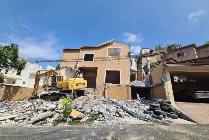 Casa de los Peña Coss, donde Diego Santoy perpetró el asesinato de Cumbres, es demolida