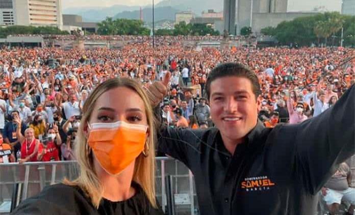 TEPJF analiza revocar multa a Samuel García por publicaciones de Mariana Rodríguez