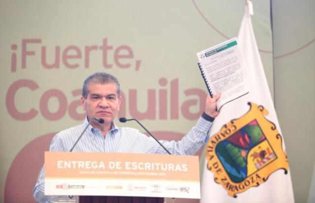 CON TRABAJO EN EQUIPO SE CONCRETA CERTEZA JURÍDICA AL PATRIMONIO FAMILIAR EN COAHUILA: MARS