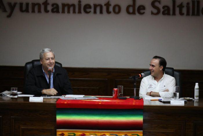 Presentan segundo bloque en la entrega/recepción de Saltillo