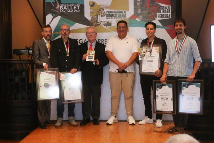 Entrega Saltillo Premios Nacionales de Arte