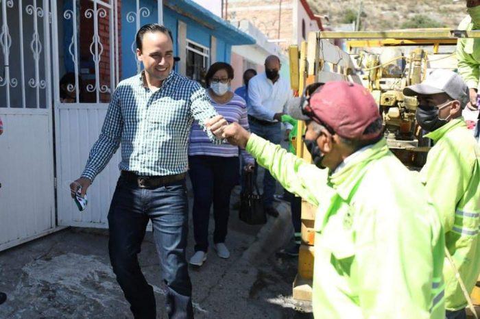 """Siguen embelleciendo colonias en Saltillo con """"Pintando Sonrisas"""""""