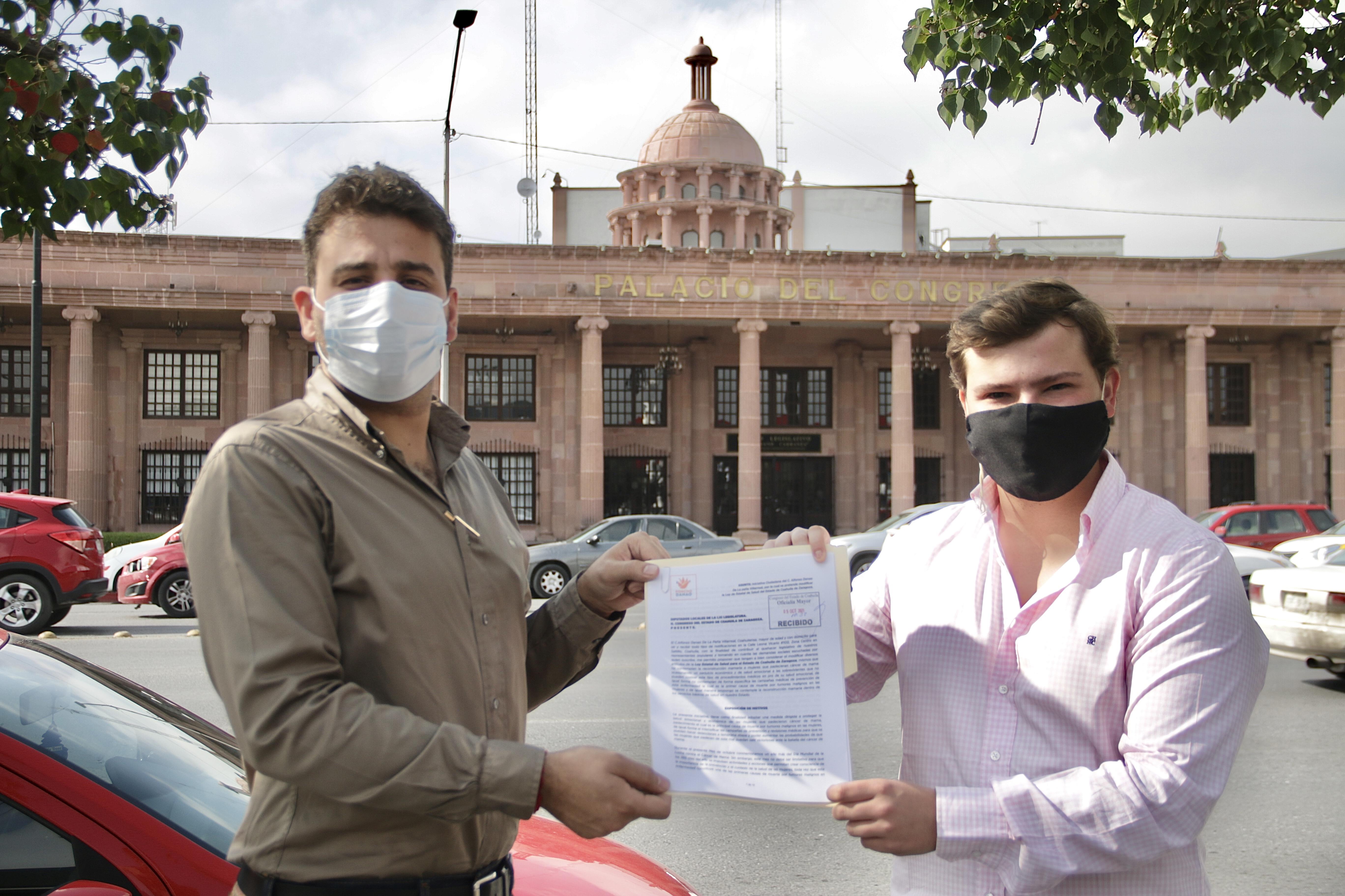Propone Poncho Danao al Congreso que la Reconstrucción Mamaria sea servicio básico de salud en Coahuila