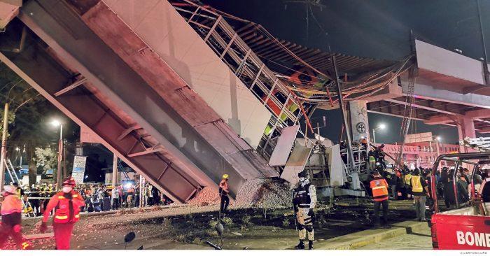 Fallas en la construcción provocaron colapso de la Línea 12: Fiscalía CDMX
