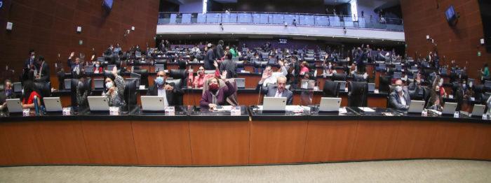 Senado avala que INE recolecte firmas en papel para la revocación de mandato