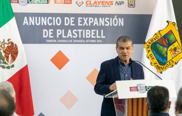 ANUNCIAN EN LA LAGUNA EXPANSIÓN DE PLASTIBELL MÉXICO; 'UN LOGRO MÁS': MARS